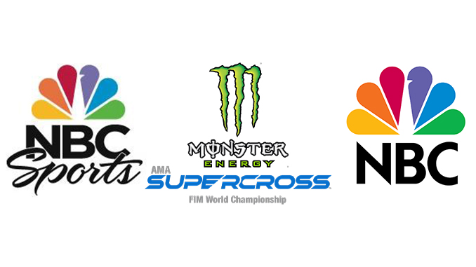 Peacock NBC Sprorts Supercross copy