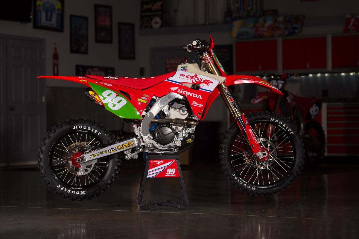 Phoenix Racing - Barnes CRF250RX