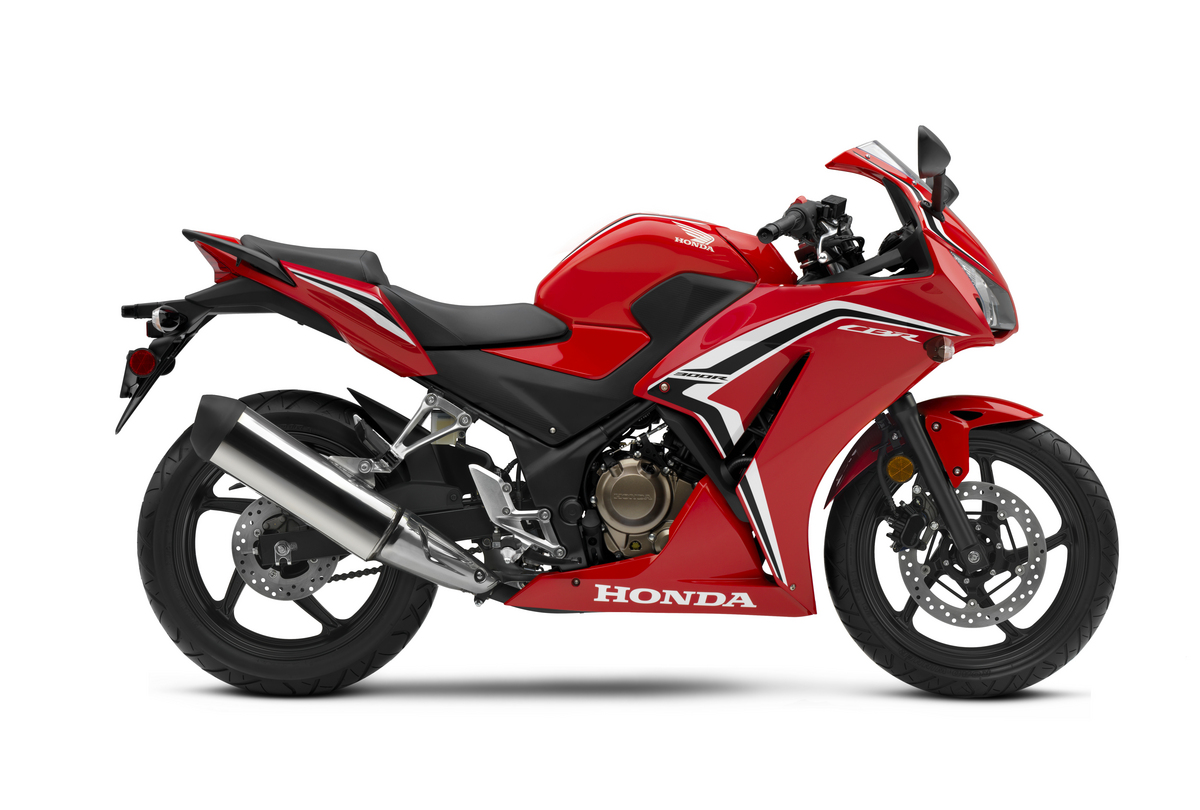 2021 Honda CBR300R RHP Grand Prix Red