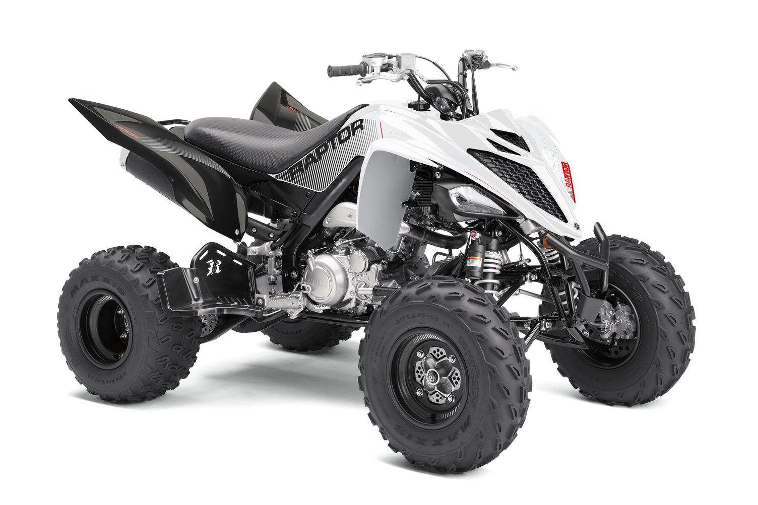 2021 Yamaha Raptor 700R SE in White Metallic Black