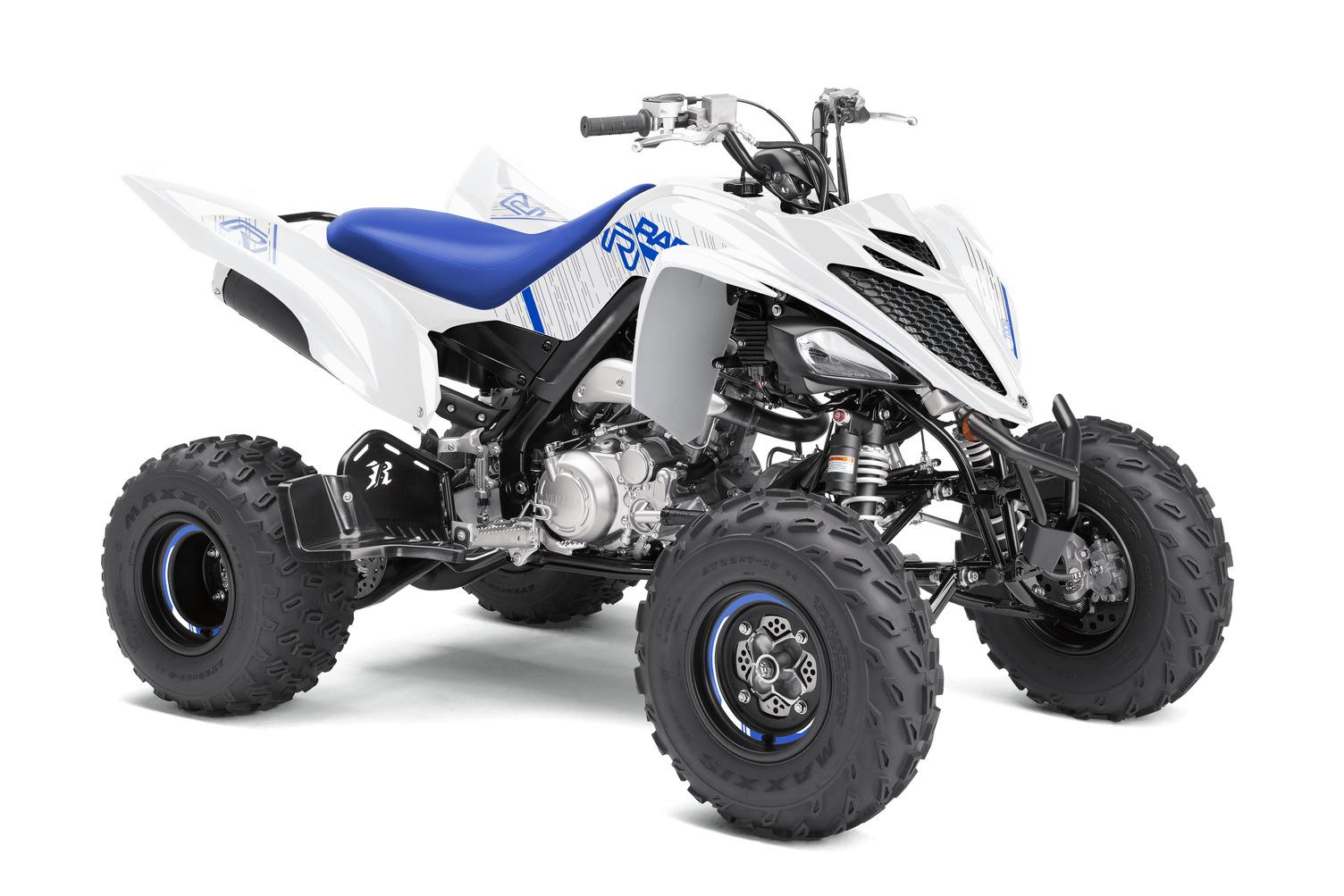 2021 Yamaha Raptor 700R SE in White Team Yamaha Blue