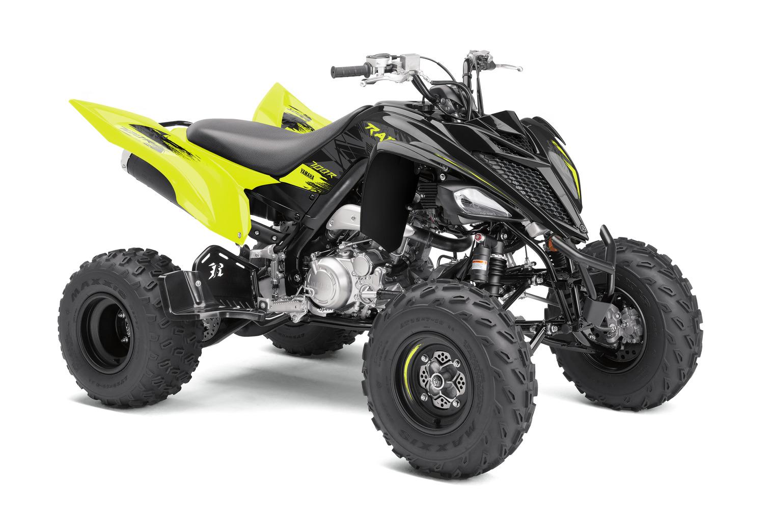 2021 Yamaha Raptor 700R SE in Yamaha Black Yellow