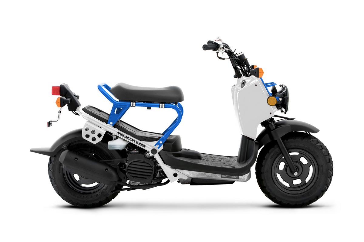2022 Honda Ruckus White Pearl Blue