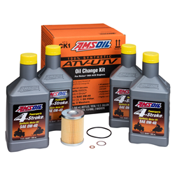 210202 AMSOIL Introduces New ATV UTV Oil Change Kits for Can-Am Applications