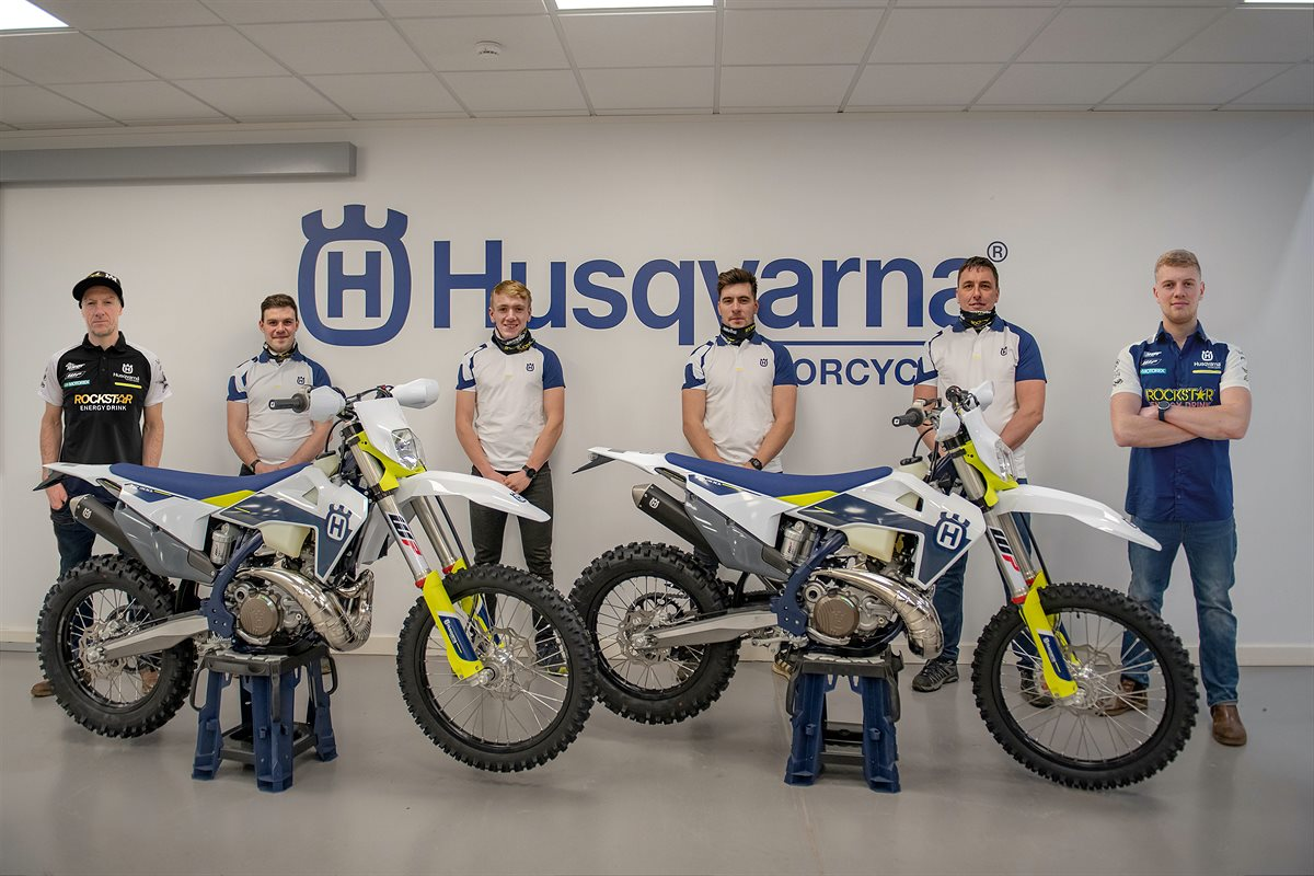 210204 JARVIS HUSQVARNA RACING TEAM