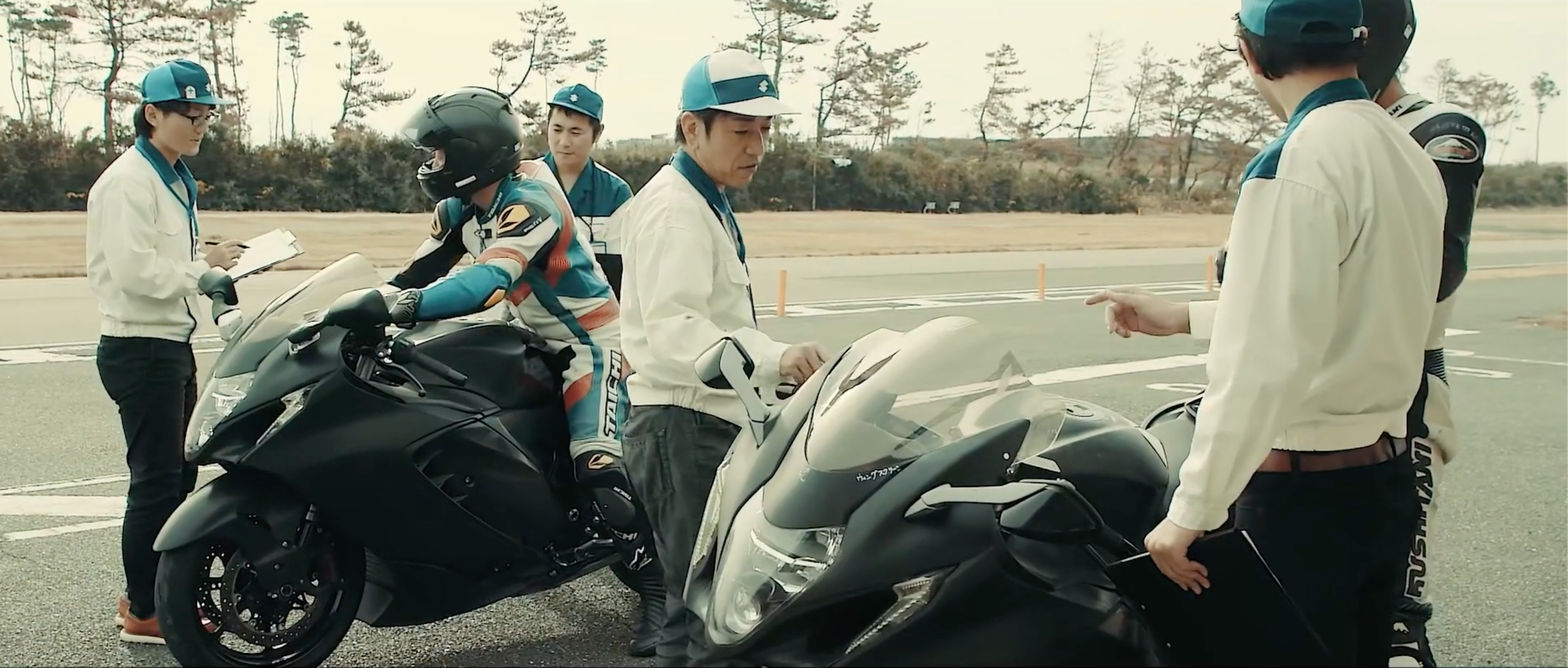 210209 Suzuki Premieres 2022 Hayabusa Development Video