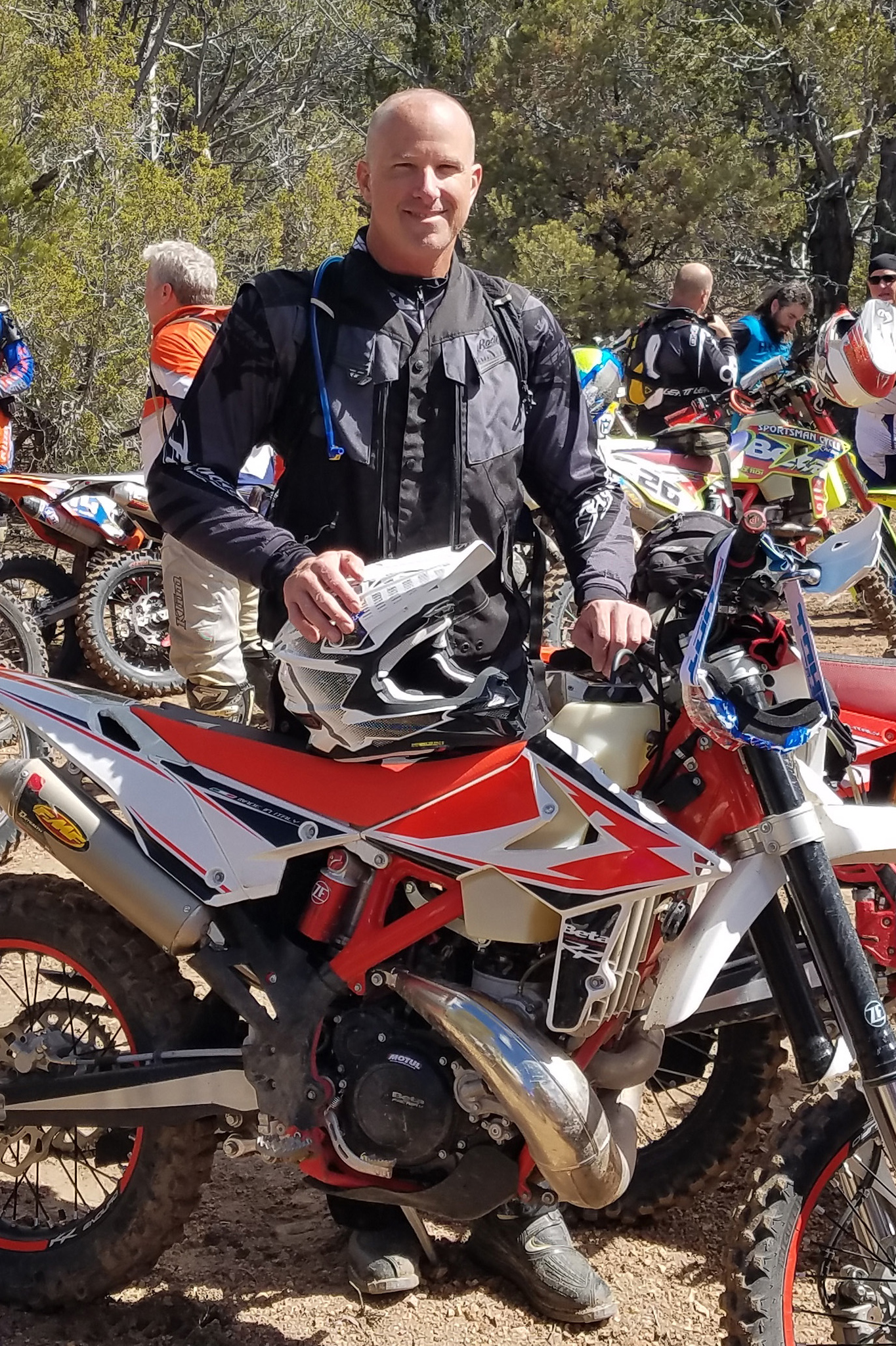 210215 Steve Gotoski, shown here on the 2019 Navada 200 dual sport ride, is the AMA Director of Industry Relations and Business Memberships.