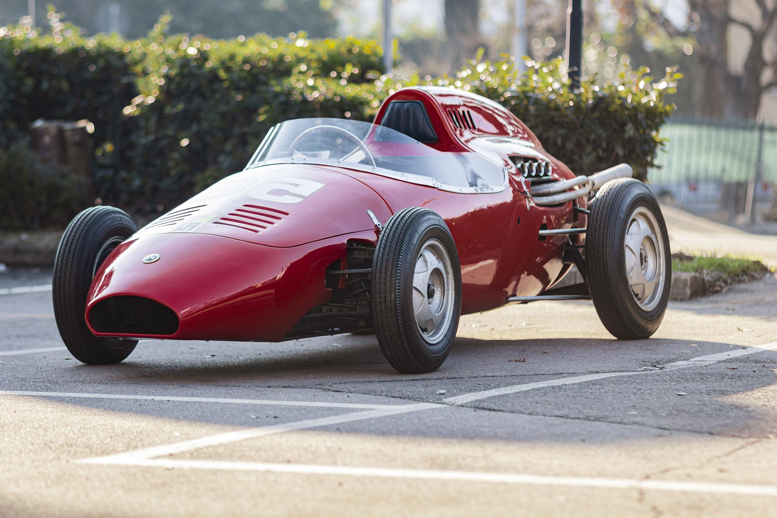 210219 1958 De Sanctis Formula Junior (Credit - Diana Varga ©2021 Courtesy of RM Sotheby's)