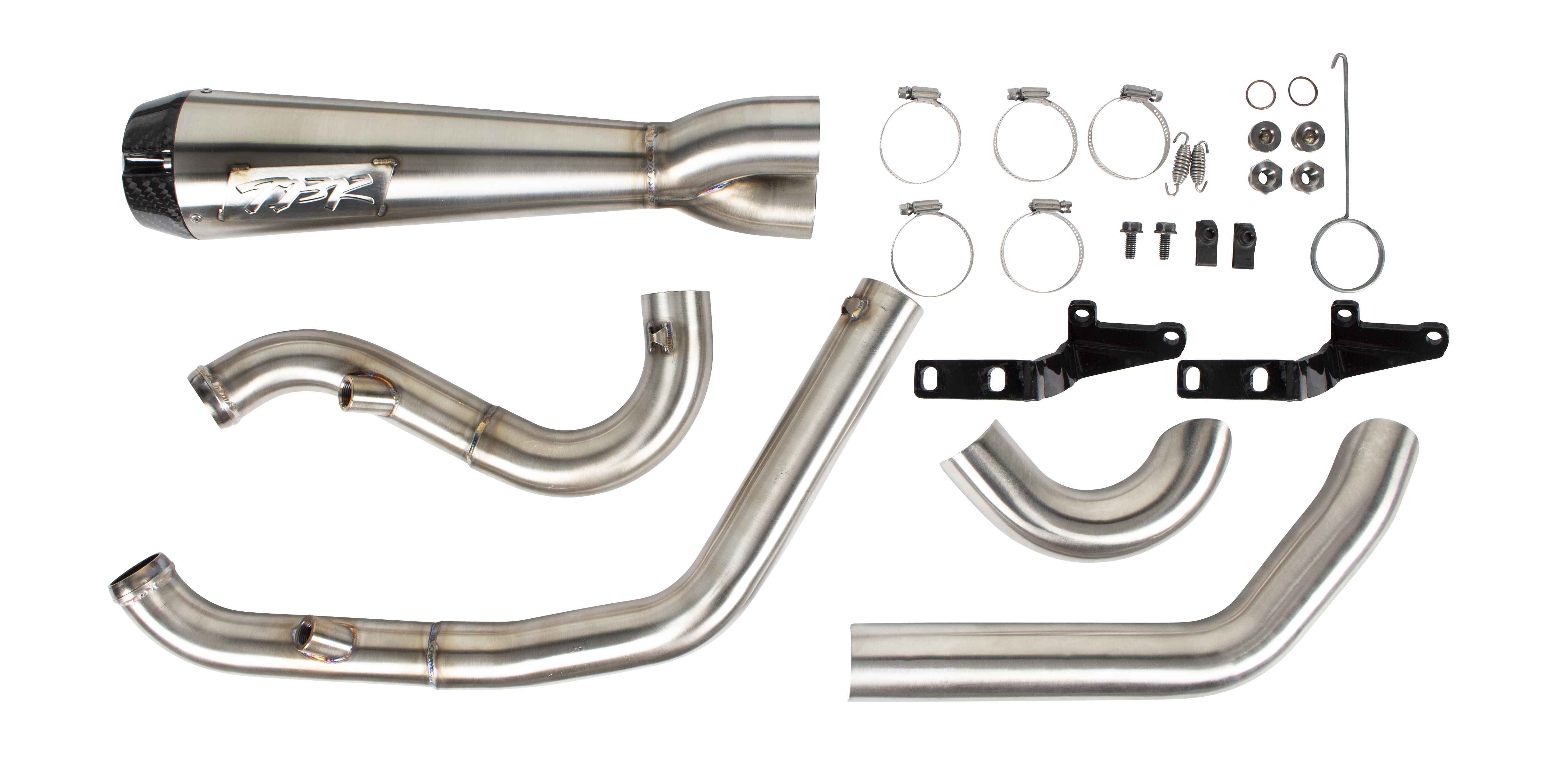 210225 2000-2017 Harley-Davidson Softail 2-1 Comp-S Exhaust System (1)