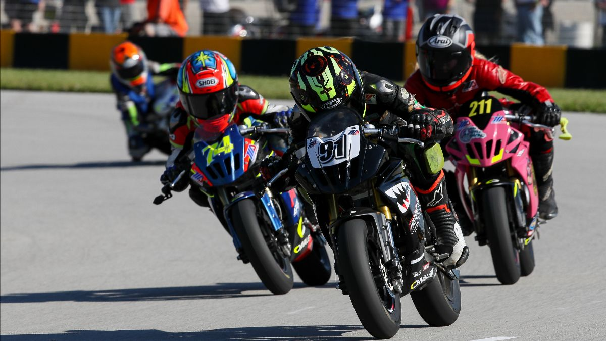210226 Motul will return in 2021 as the presenting sponsor of the MotoAmerica Mini Cup by Motul Series. Photo by Brian J. Nelson