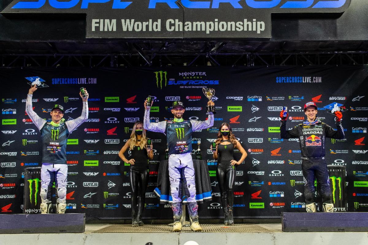 250SX Class podium - Indy 2