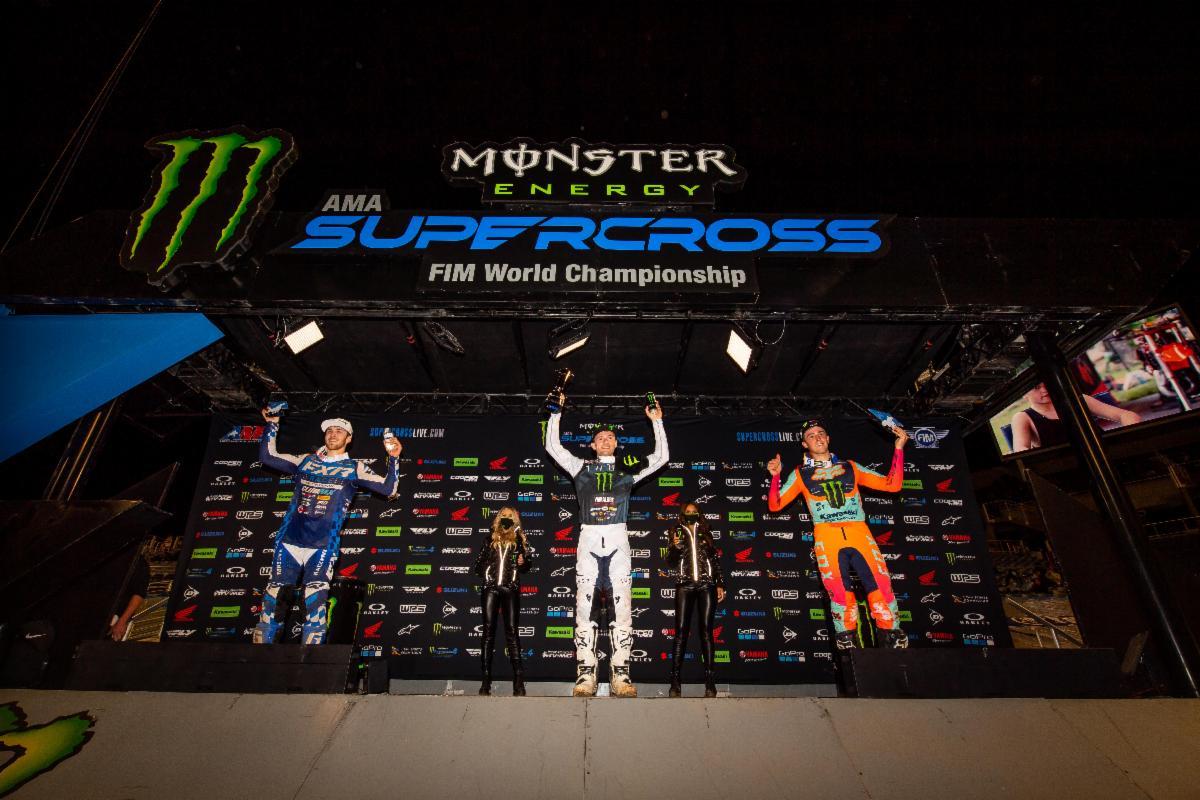 250SX Class podium - Orlando 2
