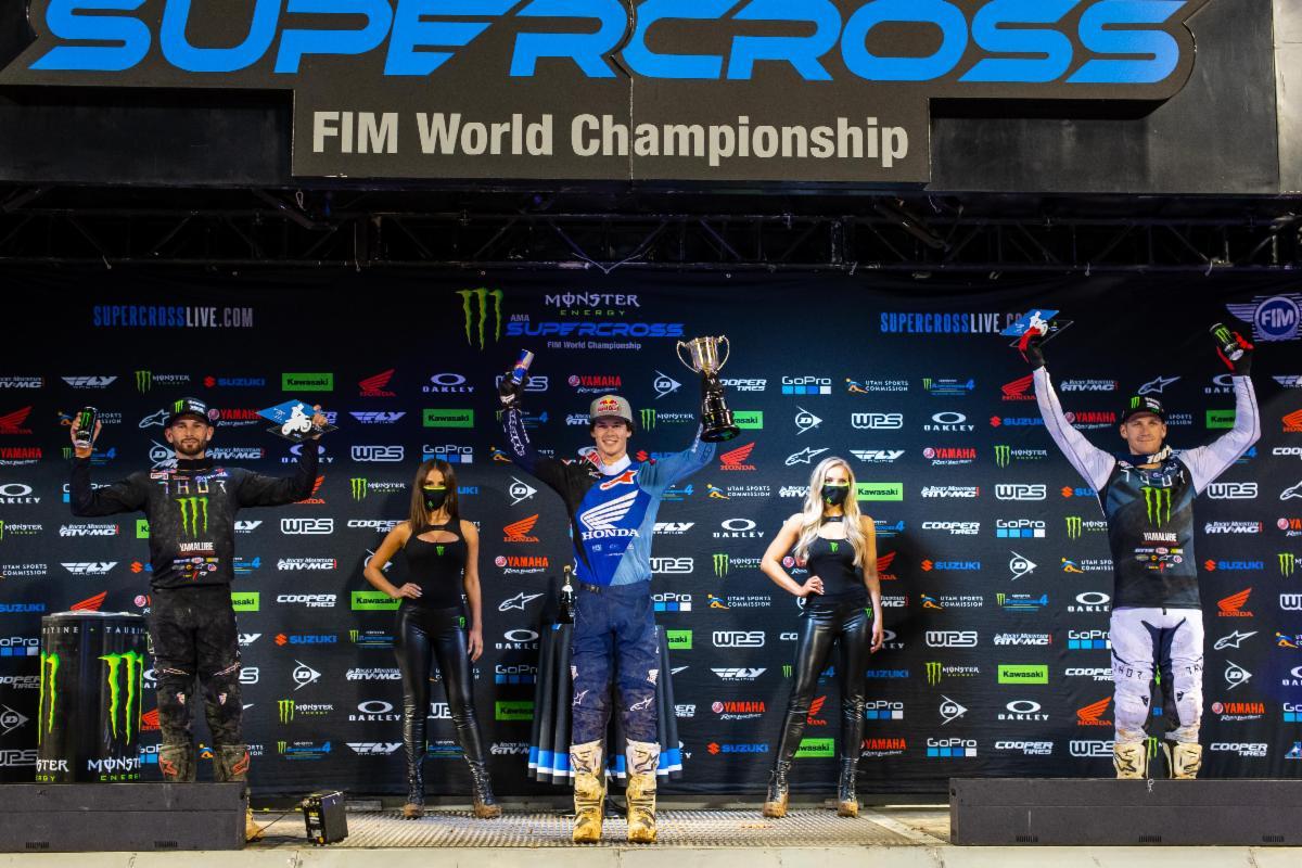 Orlando 1 - 250SX Class podium