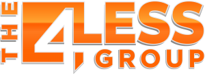 The 4less group logo