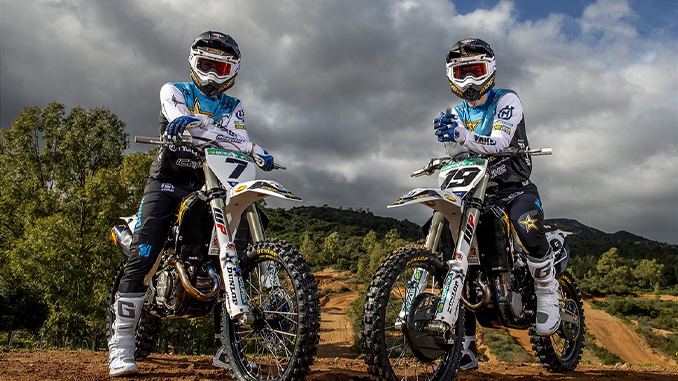 Arminas Jasikonis and Thomas Kjer Olsen - Rockstar Energy Husqvarna Factory Racing (678)