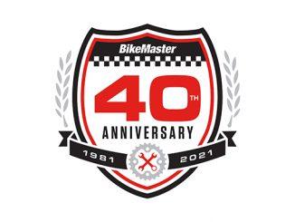 BikeMaster 40th Anniversary Logo (678)