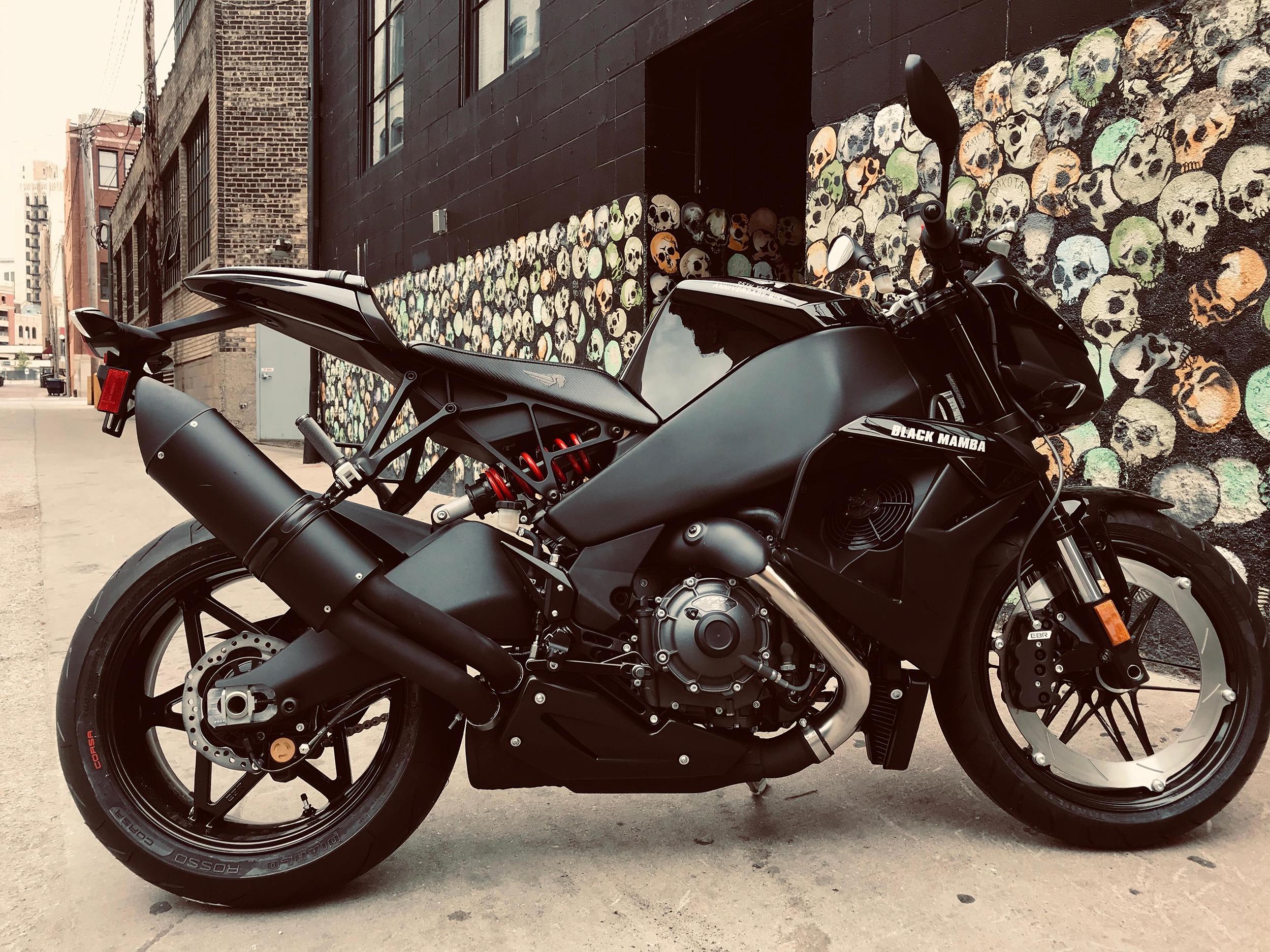 Buell Motorcycle 1190SX Black Mamba
