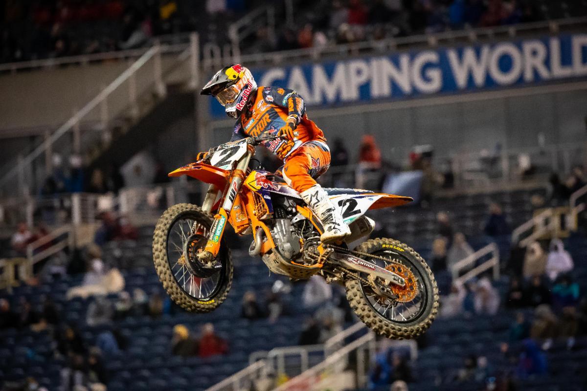 Cooper Webb Wins Orlando 2 450SX