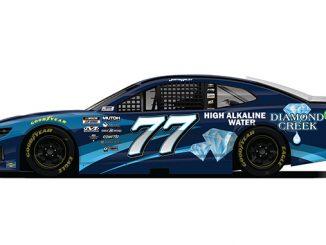 Diamond Creek Water Sponsors Justin Haley at the NASCAR Dixie Vodka 400 (678)