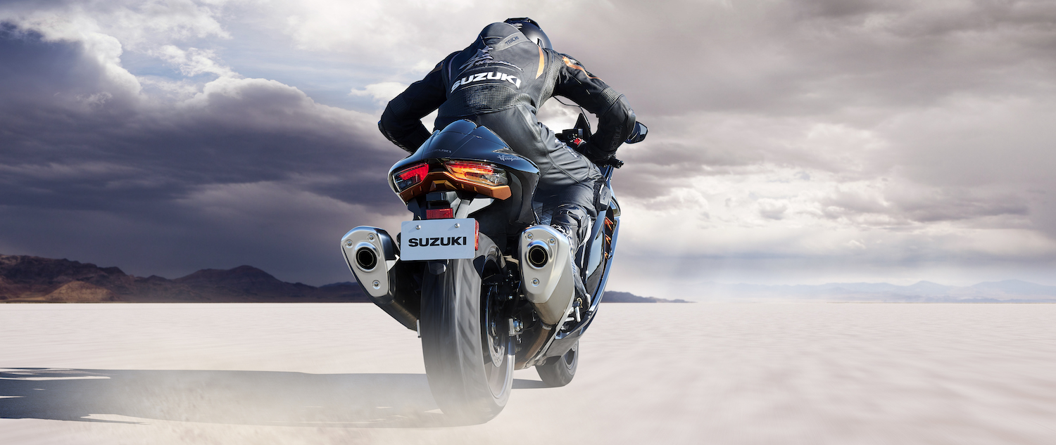 The all-new 2022 Hayabusa is the quickest accelerating Hayabusa yet