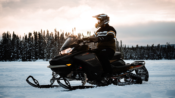 The legendary Ski-Doo Mach Z muscle sled returns for a limited run for MY22 (678)