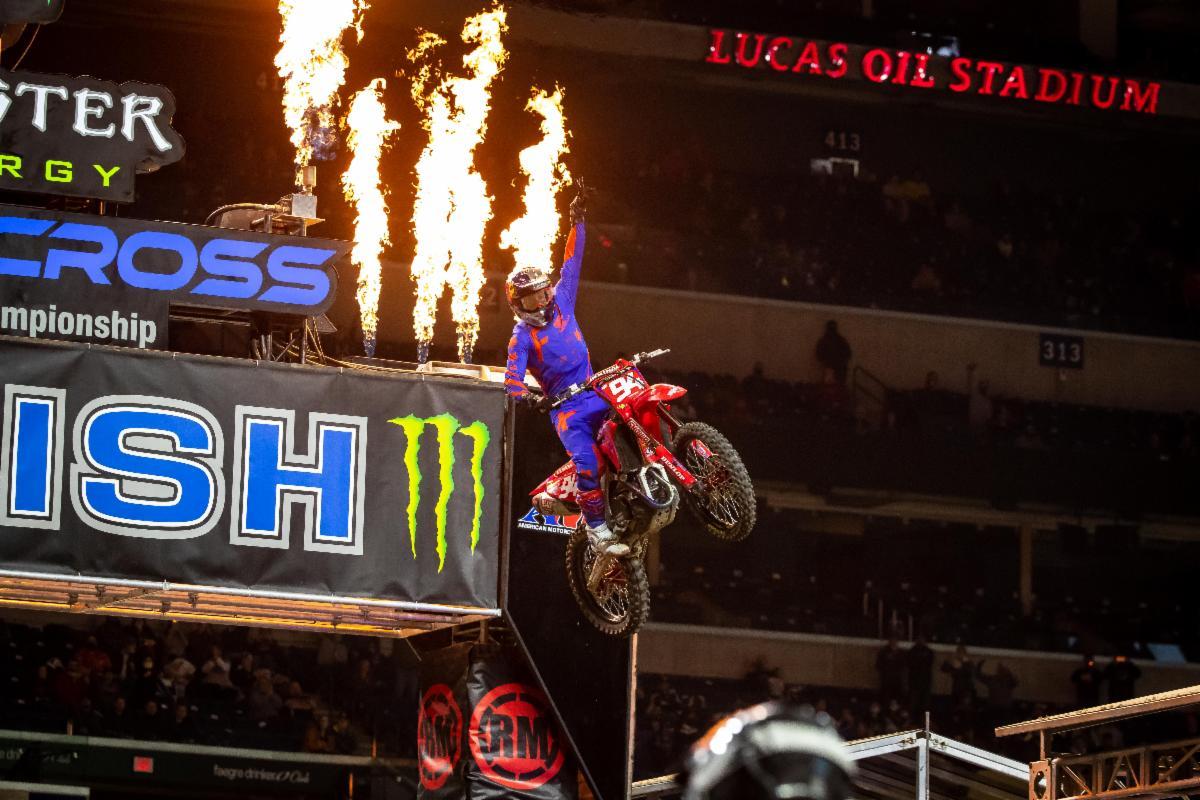 Team Honda HRC's Ken Roczen Wins - Monster Energy Supercross Indy 3