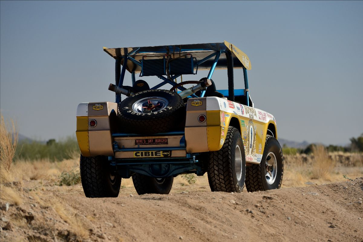 """1969 Ford Bronco Baja 1000 Racer known as """"Big Oly"""" Offered at Mecum Indy 2021"""