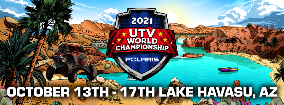2021 UTV World Championship banner