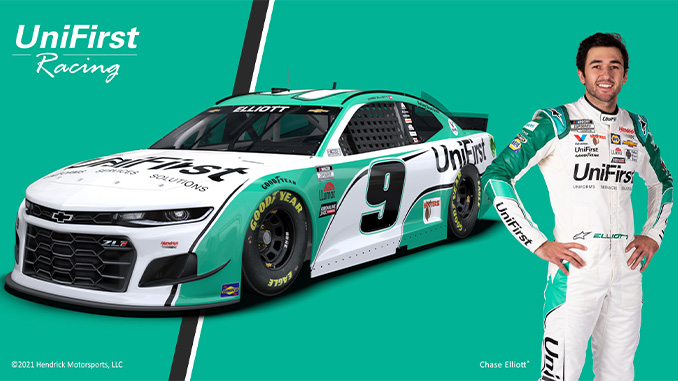 210311 UniFirst No. 9 Chevrolet Driven by Chase Elliott to Make 2021 NASCAR Debut on Sunday, March 14 (678)