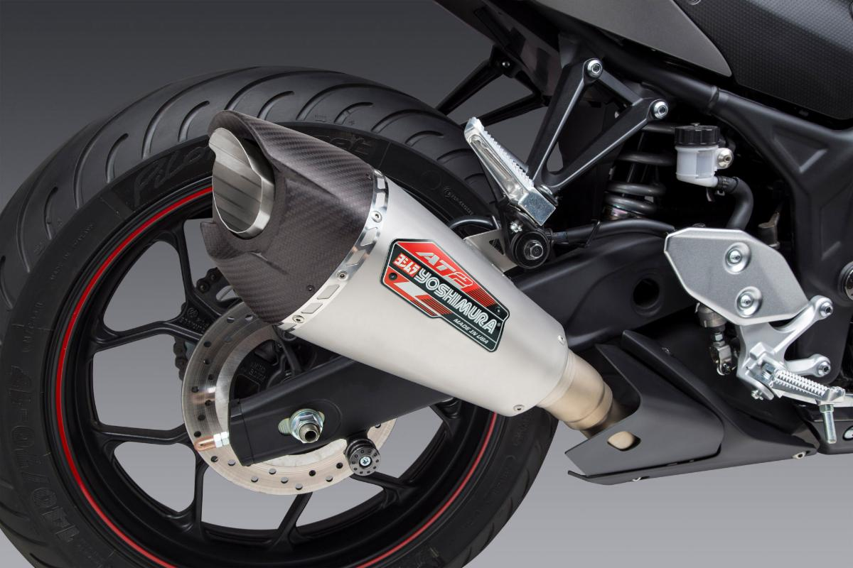 210312 Yoshimura Introduces AT2 Street Series Slip-on for Yamaha YZF-R3 (3)