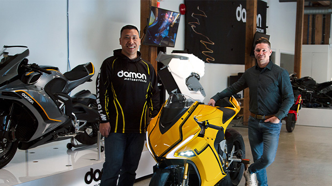 210315 SOL Global Announces First Green Tech Investment in Award-Winning Electric Motorcycle Company Damon Motorcycles (678)