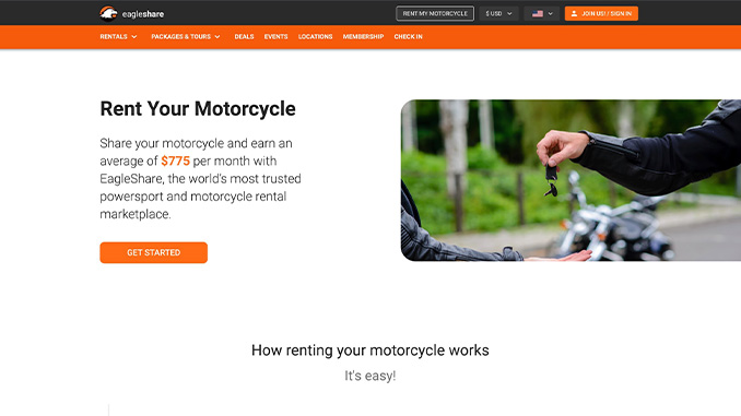 210317 EagleRider Holdings Launches Peer-to-Peer Motorcycle and Powersports Sharing Platform (678)