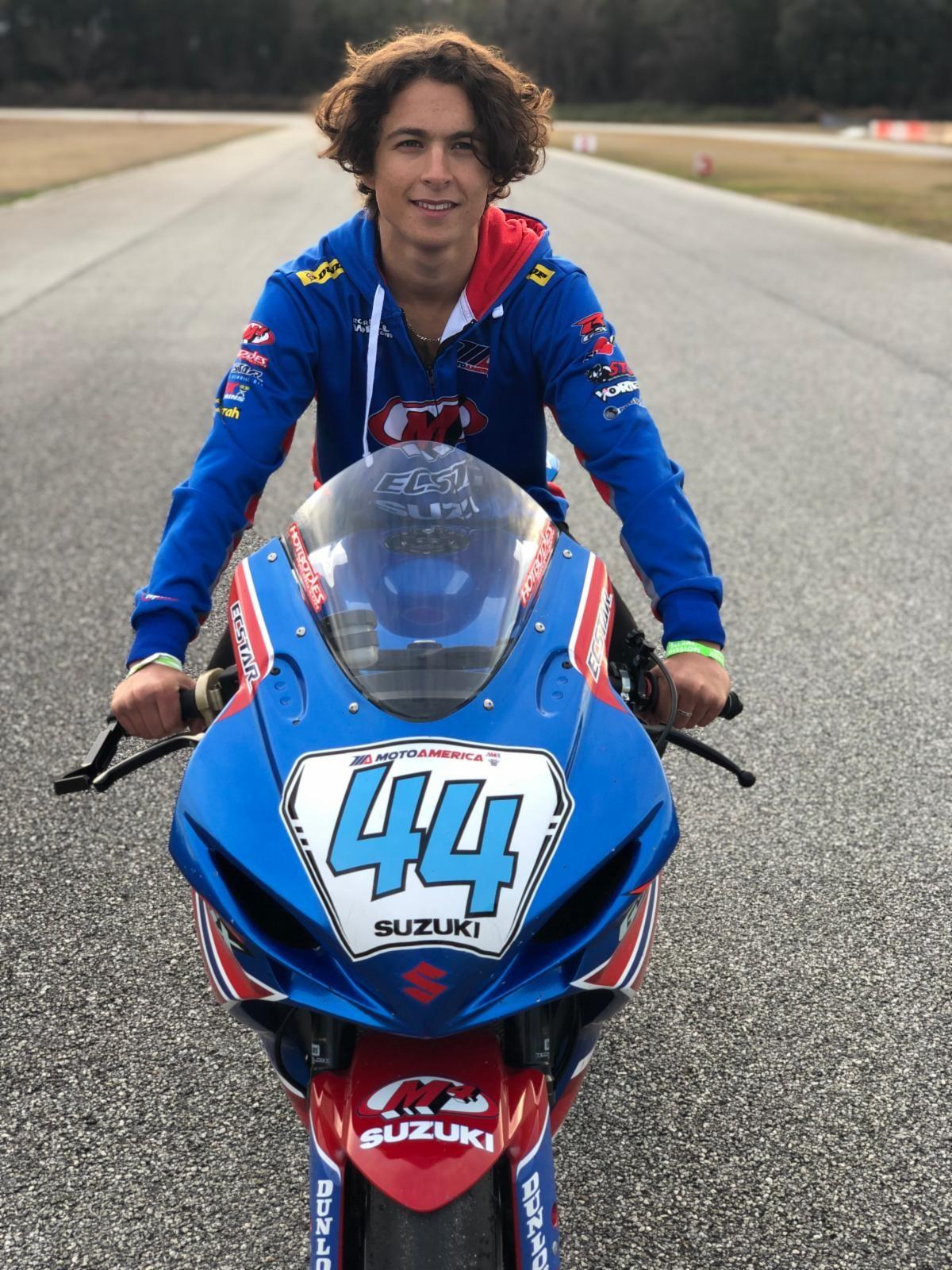 210323 18-Year Old Sam Lochoff moves up to Supersport for Team M4 ECSTAR Suzuki in 2021