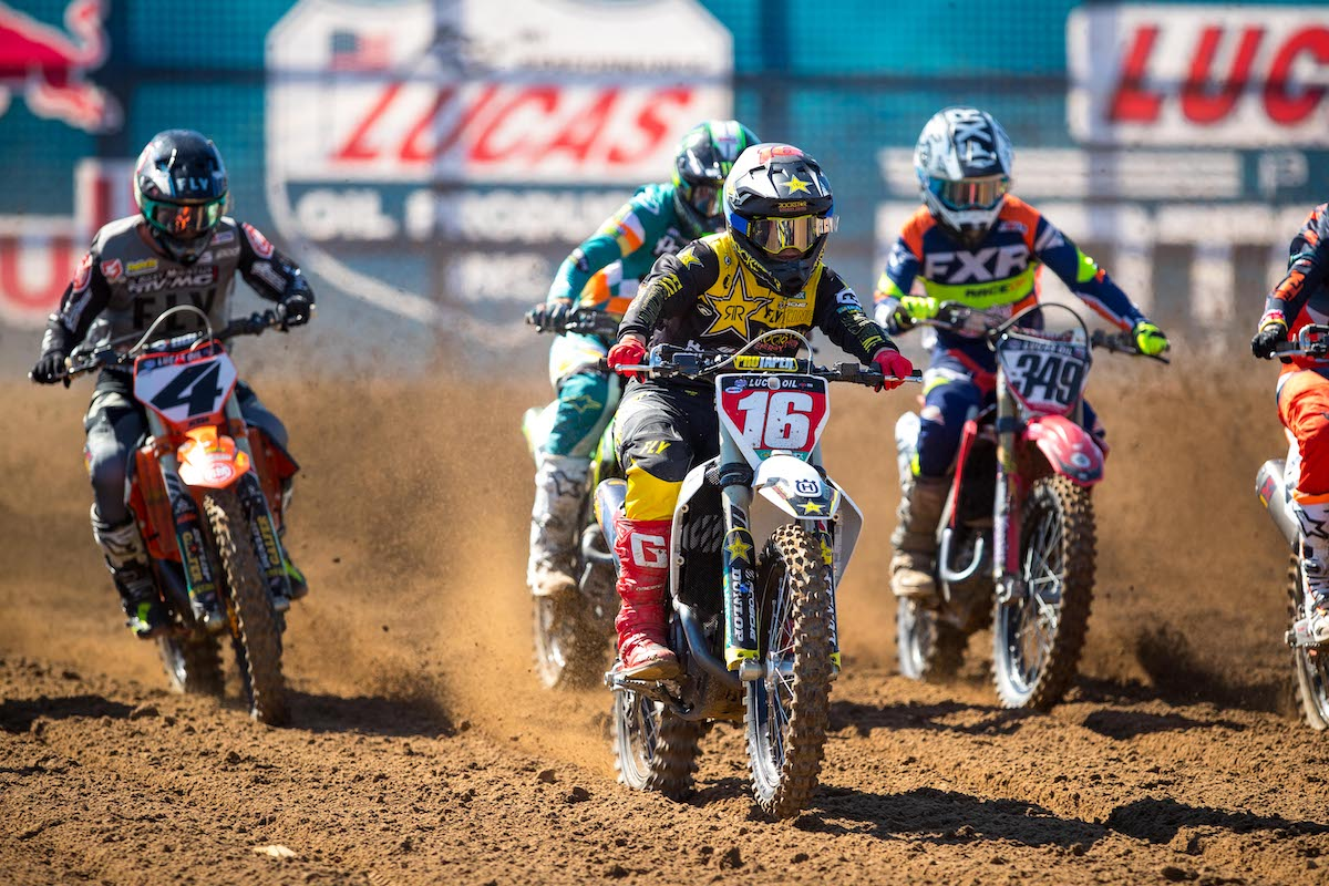 210323 The 2021 Lucas Oil Pro Motocross Championship will see Zach Osborne (16) look to successfully defend his 450 Class title