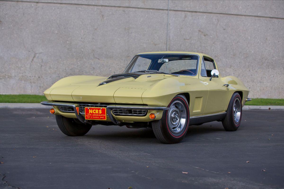 210324 1967 Chevrolet Corvette L88 Coupe Original Engine, Duntov Mark of Excellence (Lot S122.1); sold at $2,695,000