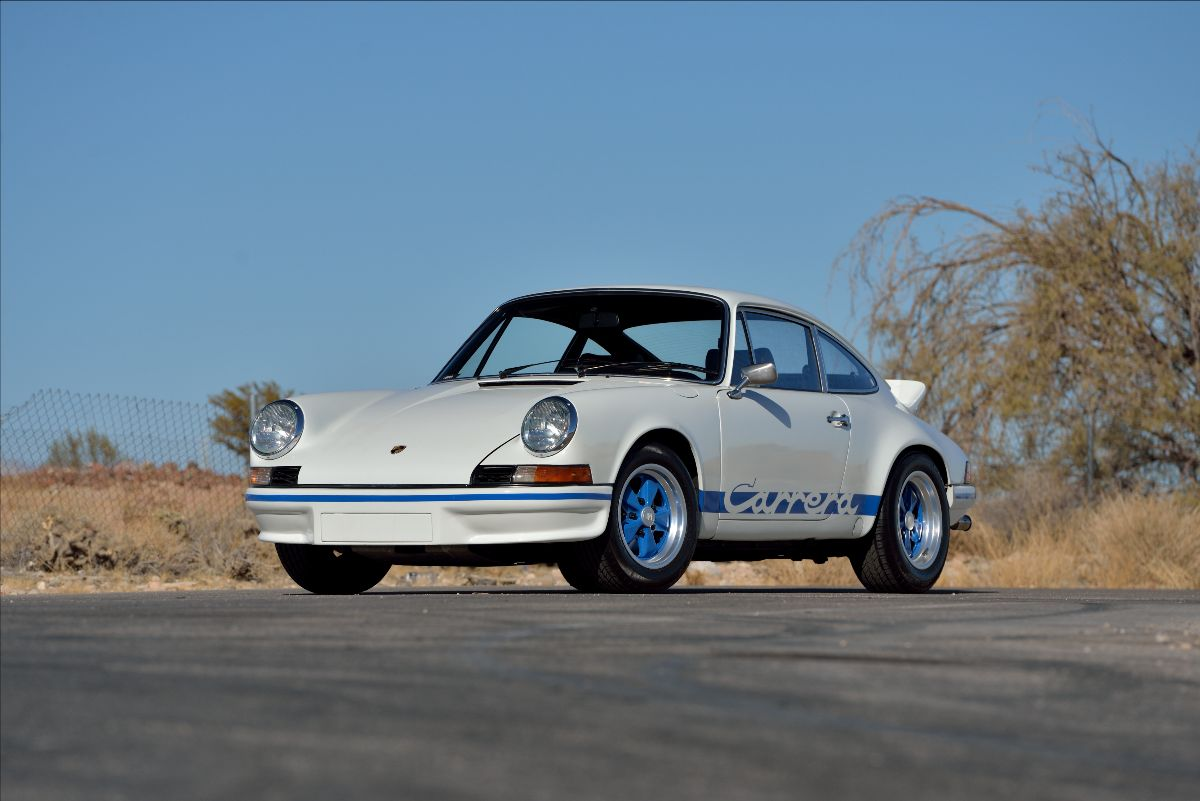 210324 1973 Porsche 911 Carrera RS 2.7 1 of Only 1,580 Produced (Lot F123); sold at $495,000