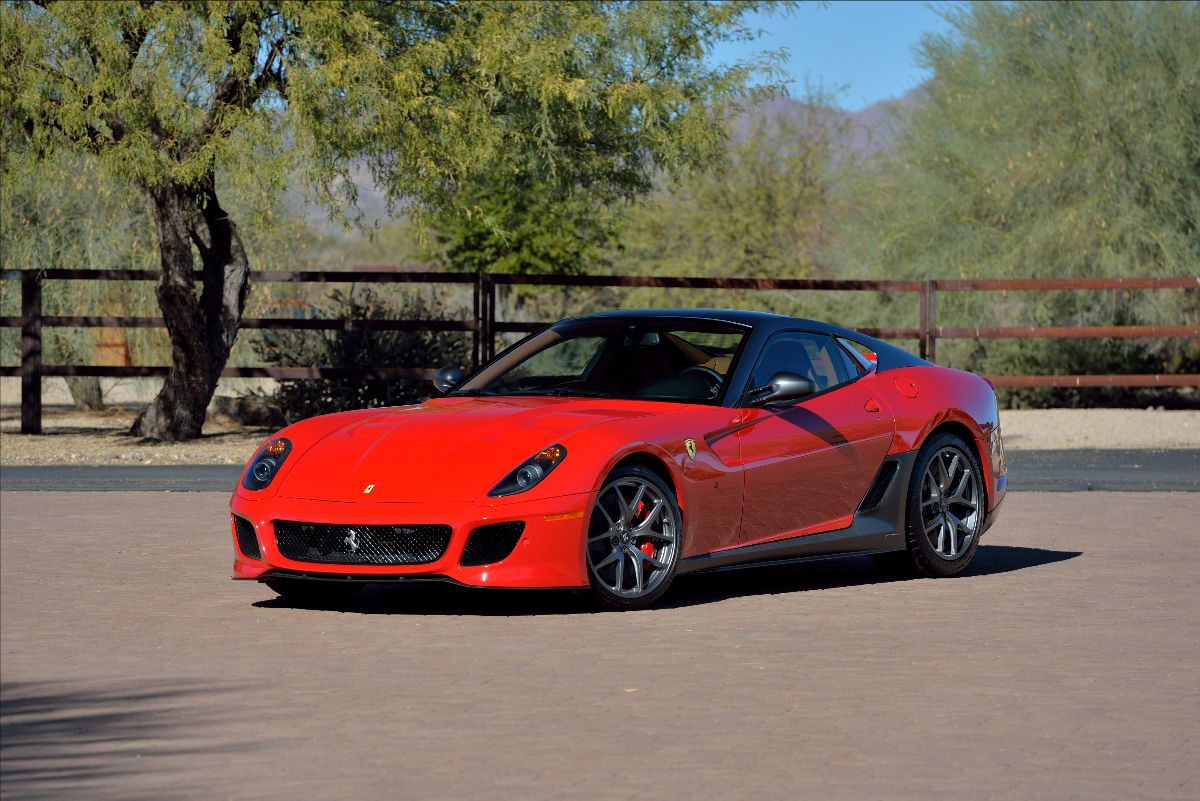 210324 2011 Ferrari 599 GTO 175 Miles, 1 of 125 Exported to the U.S. Market (Lot S103); sold at $720,500
