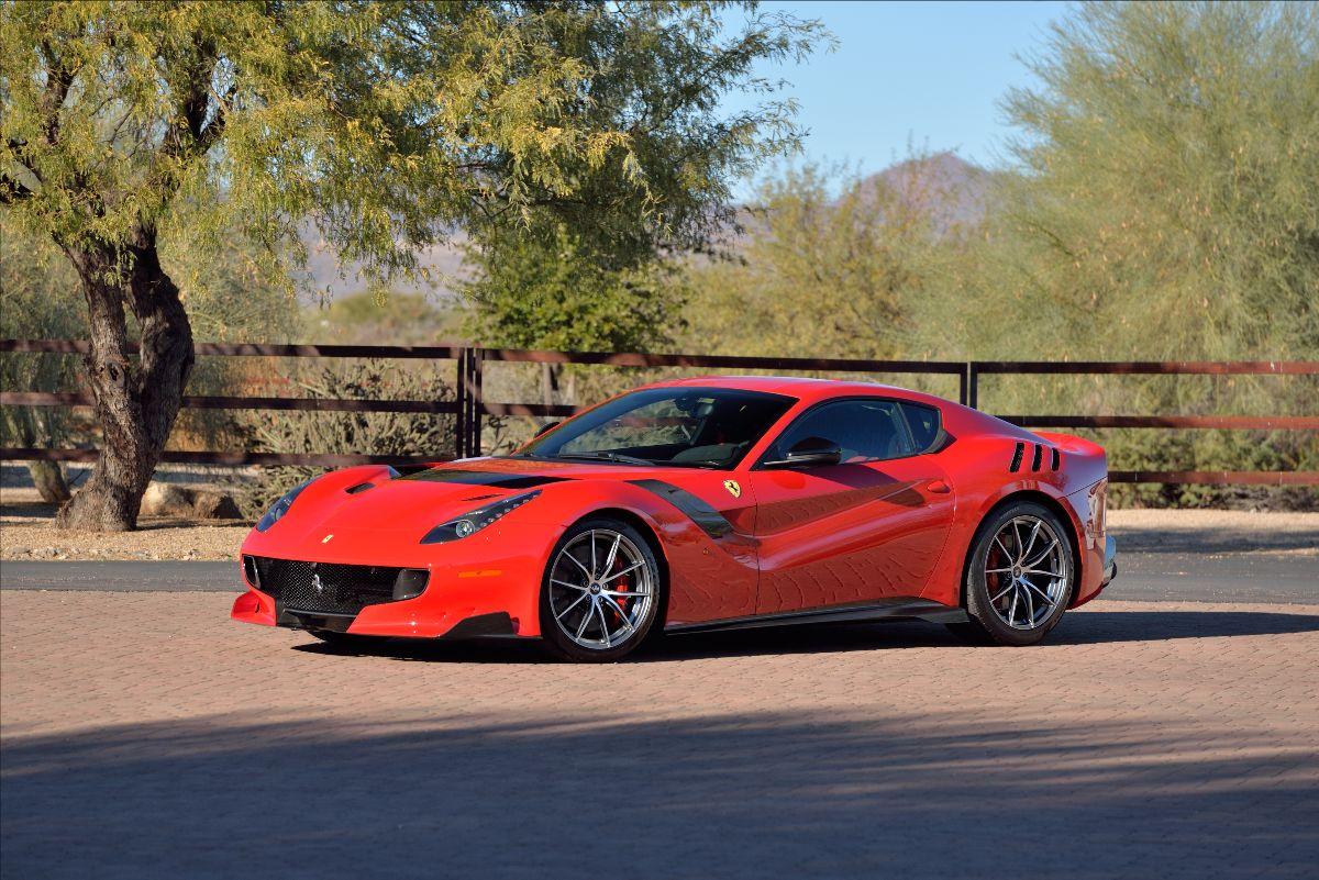 210324 2016 Ferrari F12tdf 449 Miles, Originally Owned by Roger Penske (Lot S105); sold at $880,000