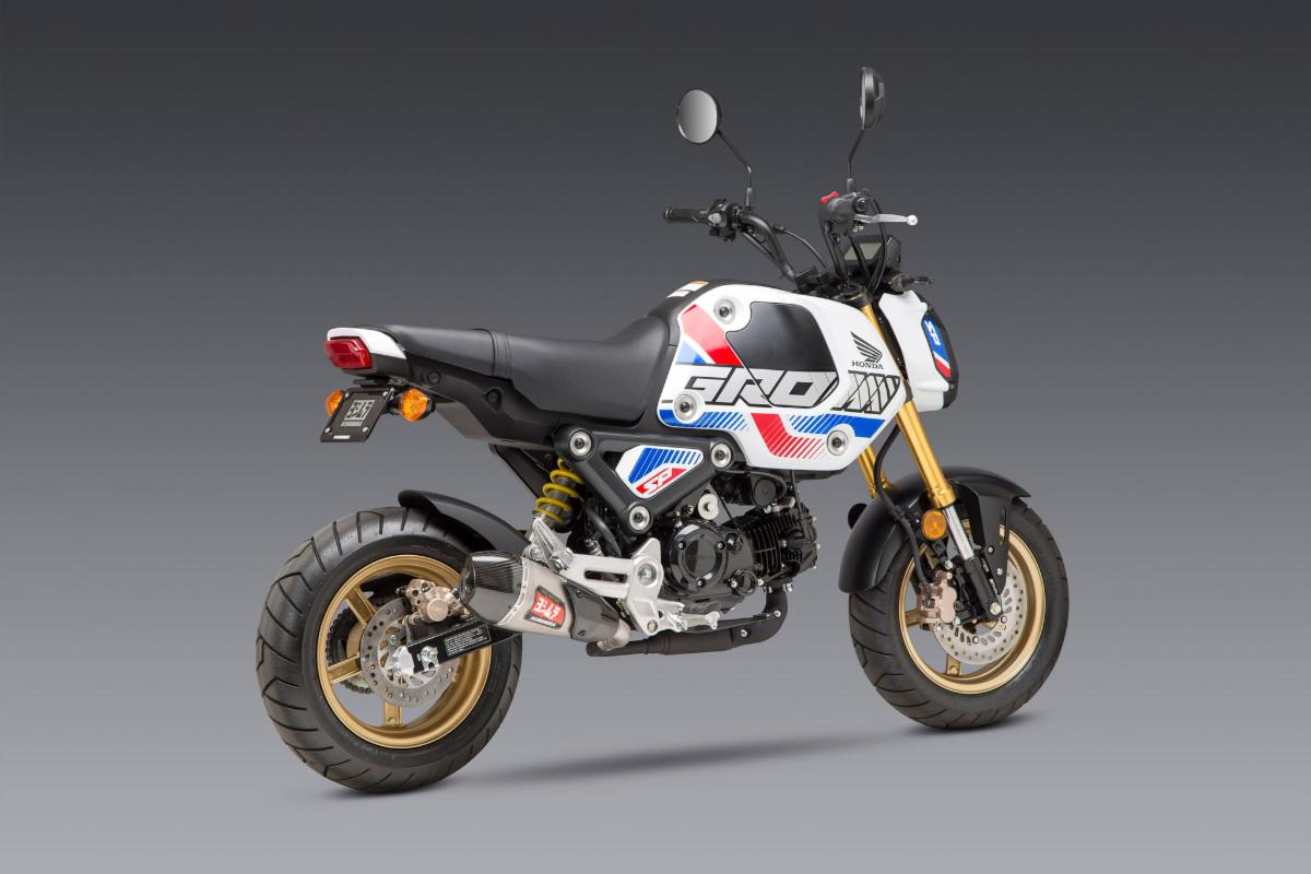 210324 The RS-9T Works Finish slip-on is a perfect fit on the 3rd gen Grom (1)