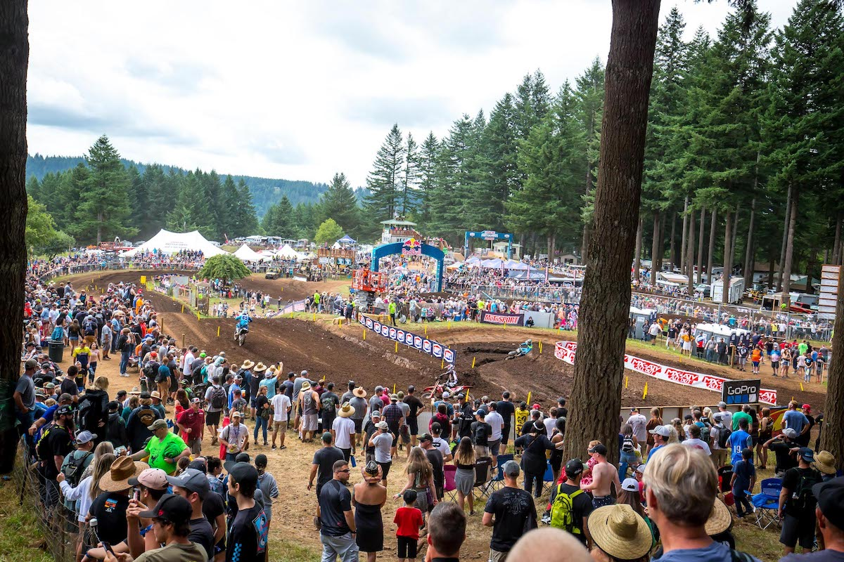 210325 Thanks to the efforts of Ralph Huffman and the Huffman family, the atmosphere at Washougal MX Park is one of the most unique and memorable