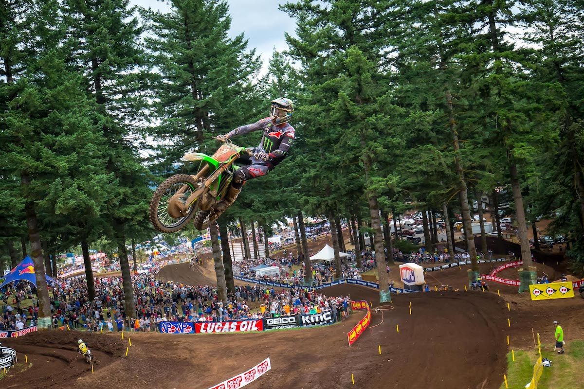 """210325 The picturesque landscape that surrounds Washougal MX Park has led to its distinction as """"America's Most Scenic Raceway."""""""