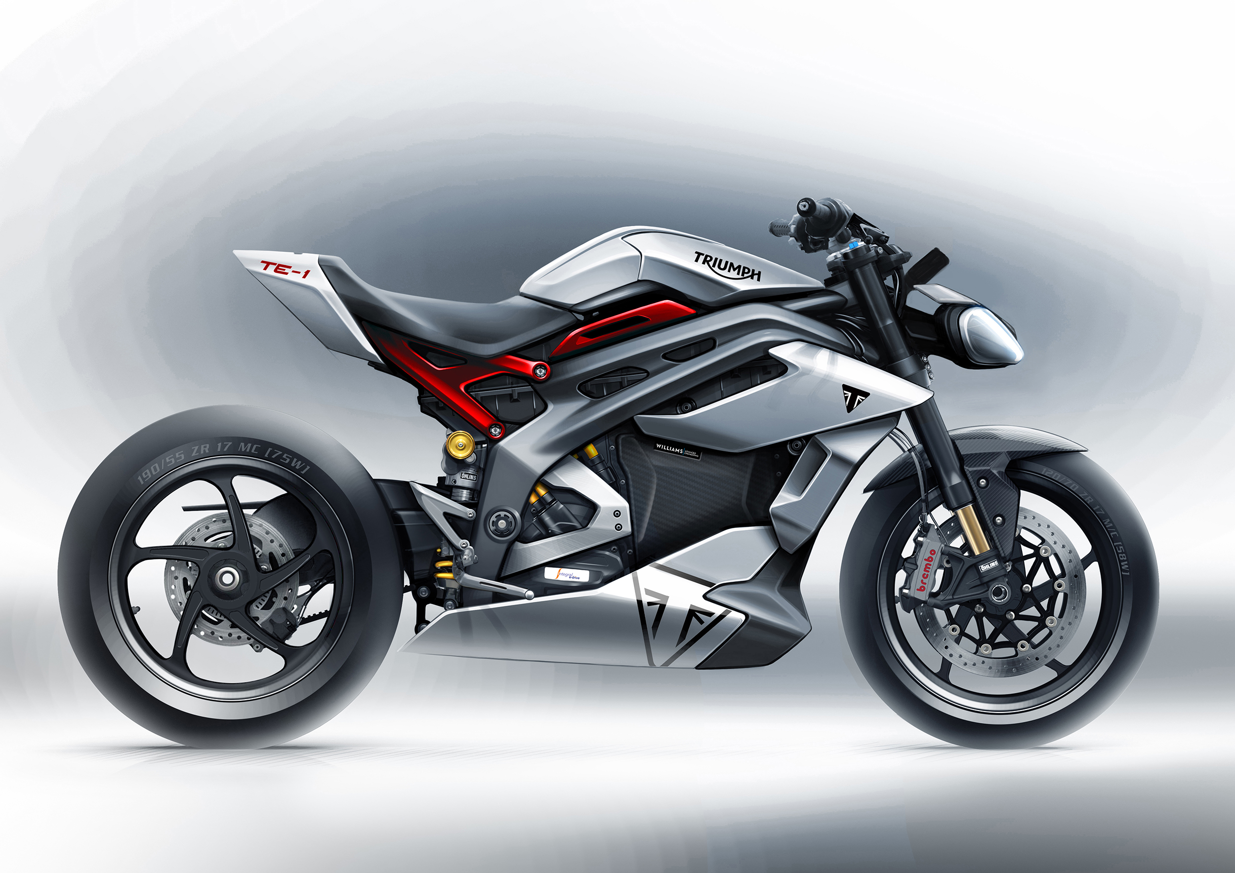 210325 Triumph Motorcycles TE-1 Prototype Sketch