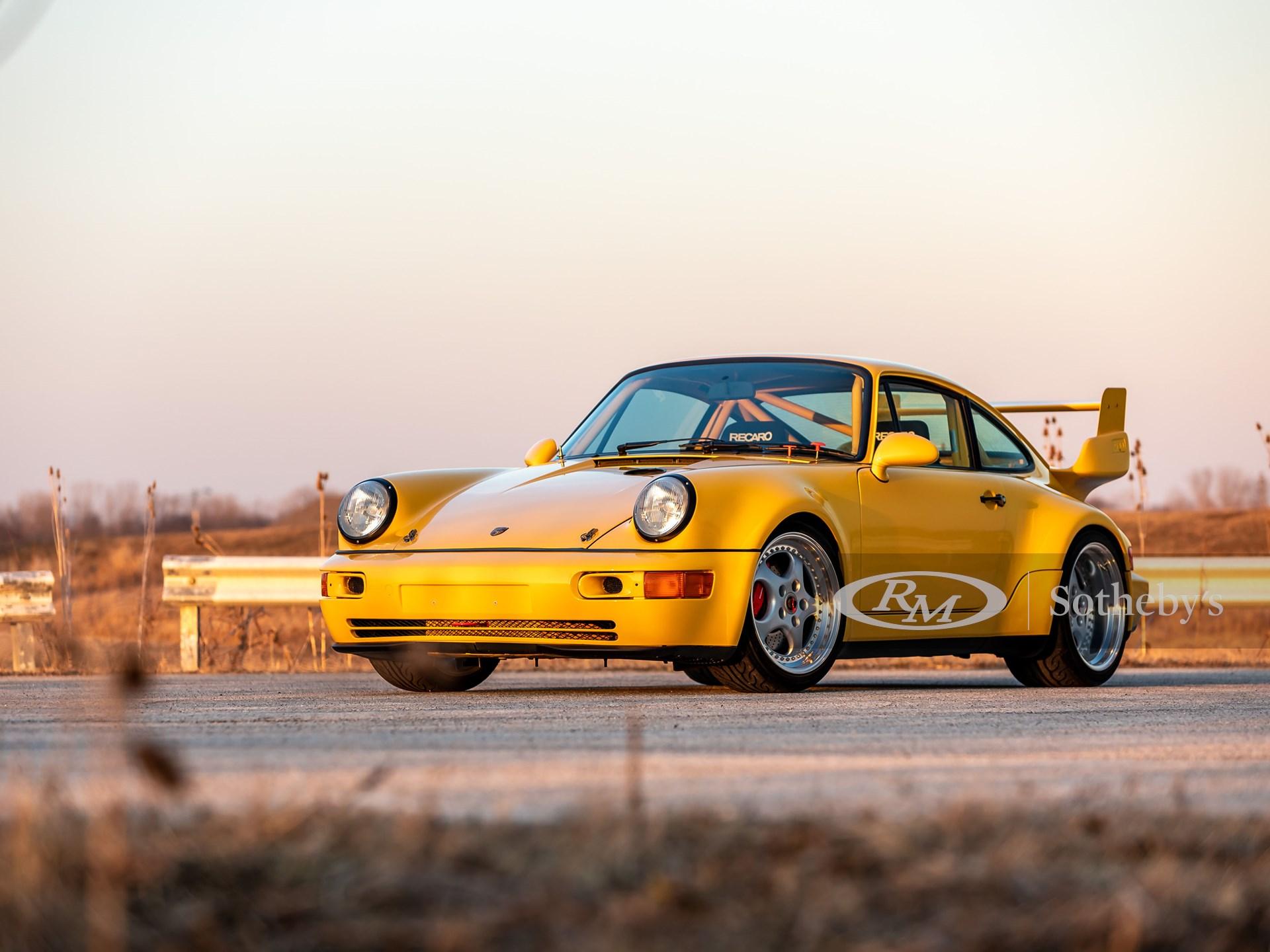210326 1993 Porsche 911 Carrera RSR 3.8 (Credit – Theodore W. Pieper ©2021 Courtesy of RM Sotheby's)