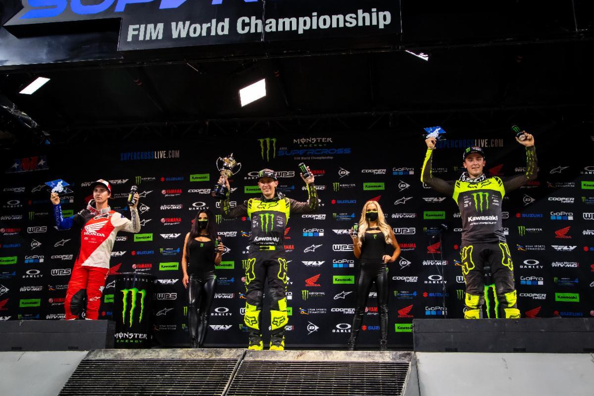 250SX Class podium - Arlington 1