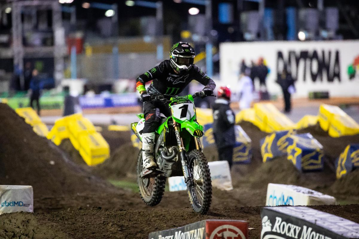 Eli Tomac delivered when he most needed a win - Daytona Supercross