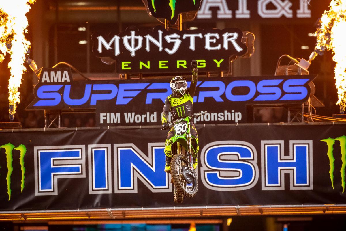 Kawasaki's Seth Hammaker Wins Arlington 1