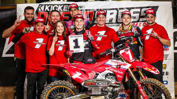 Kyle Peters Completes Perfect Season in AMA Arenacross (678)