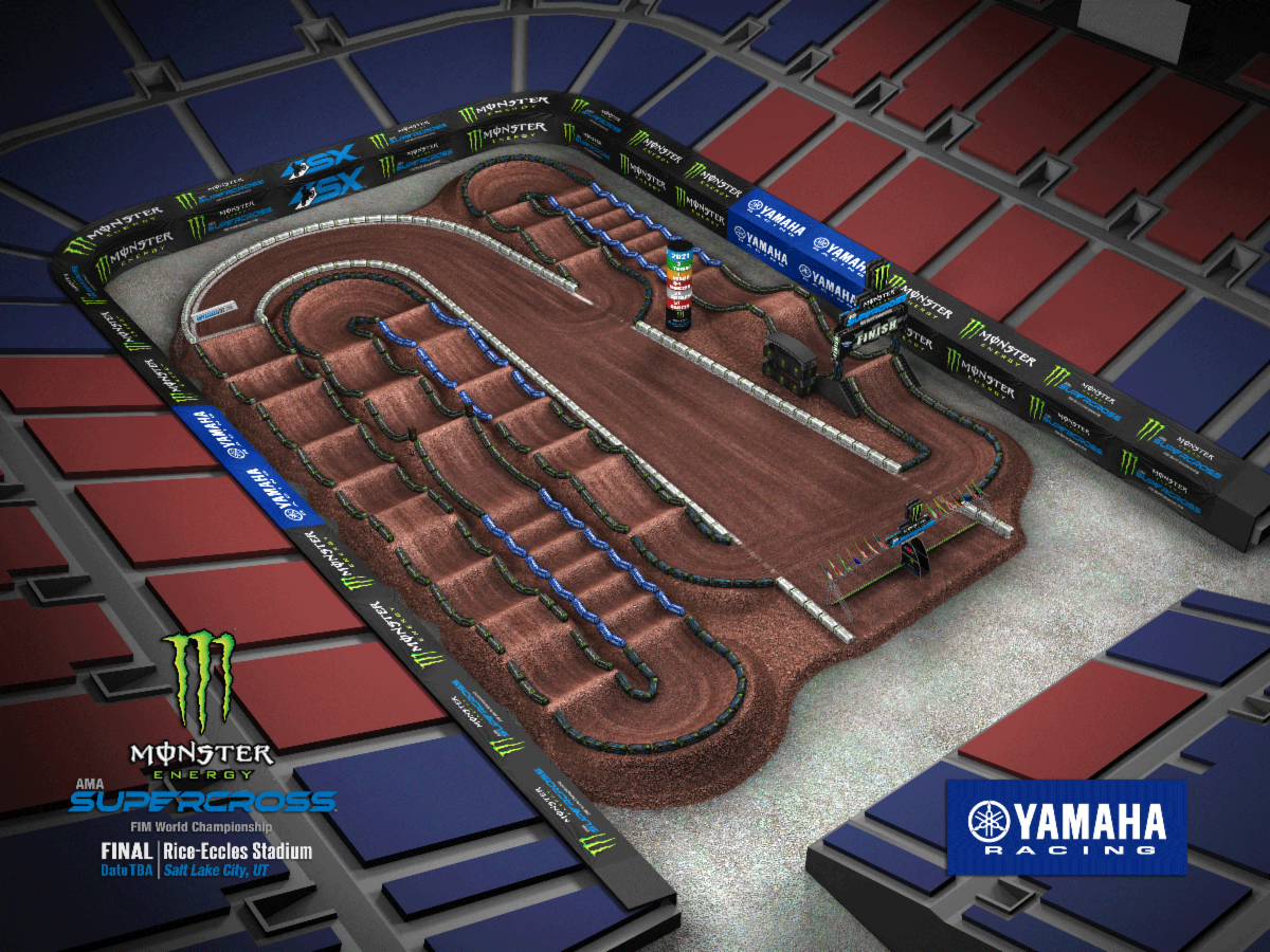 Round 17 - Salt Lake City Track Map