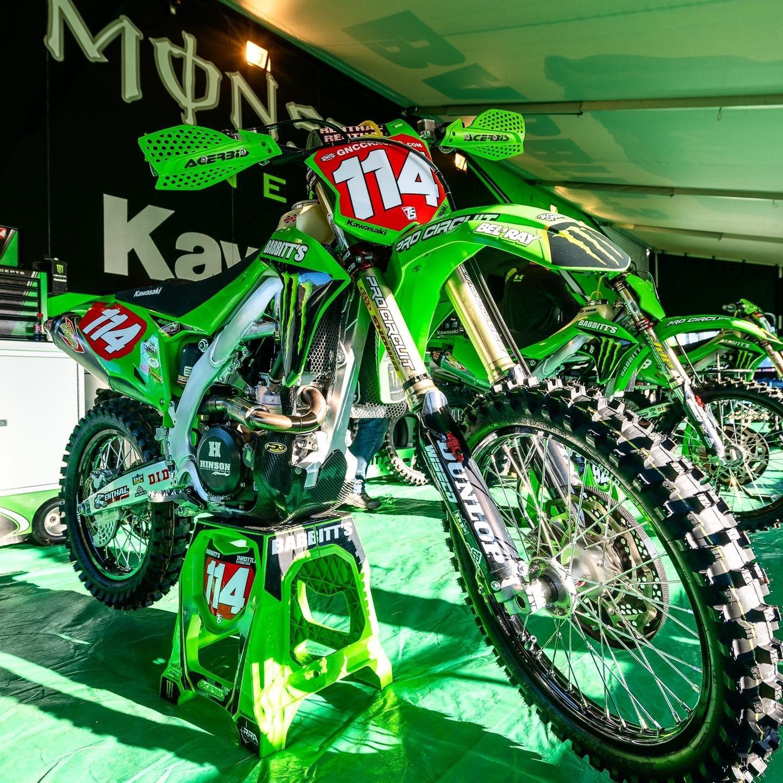 Team Babbitt's Monster Energy Kawasaki