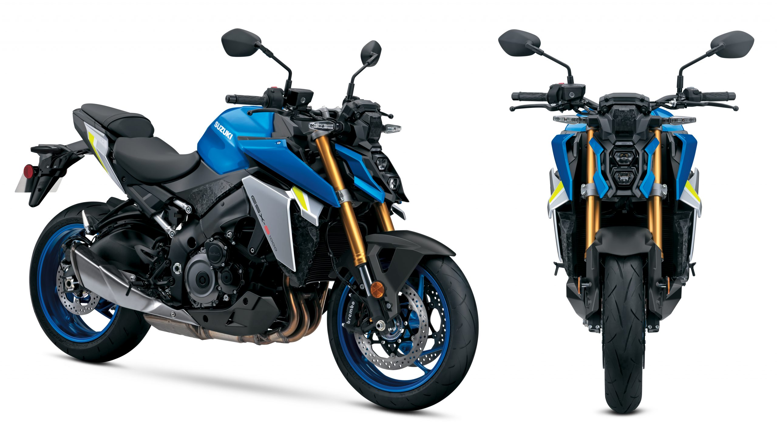 2022 Suzuki GSX-S1000 features new angular styling with an ergonomically comfortable, yet sporty riding position